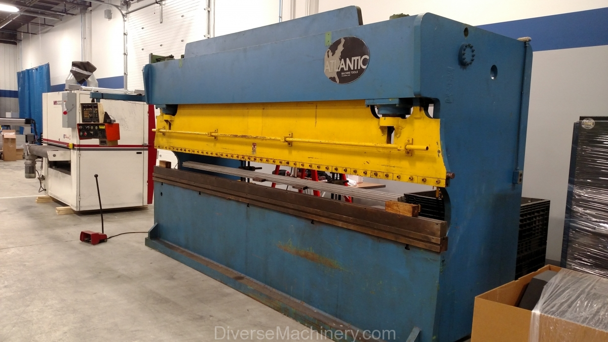 atlantic press brake front