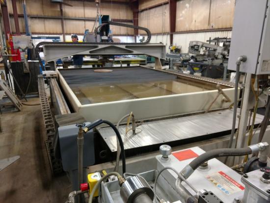 Used Flow Waterjet Mach 2 • Diverse Machinery